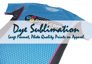 dye sublimation shirt printing