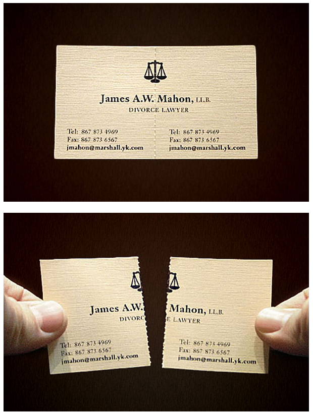 Get creative with your business cards!