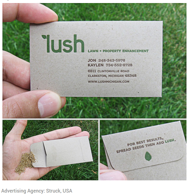 Taking your business card to the next level.