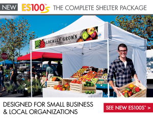 Do you need a sturdy dependable customizable tent for farmeru0027s markets fairs and shows? Look no further. ABR Print is teaming up with E-Z UP to provide ... & New E-Z UP Tents Available At ABR Print - ABR Print